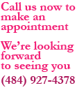 call roots by niki to make an appointment (484) 927-4378