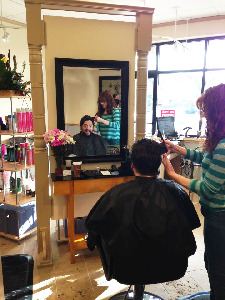 hair styling men